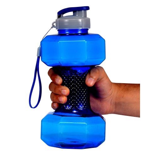 iShake 1.5 Liter Dumbbell Shape Gallon Water Bottle