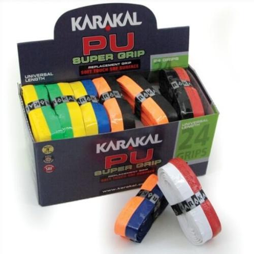 Karakal PU DUO Supergrip - Pack of 24 Grips