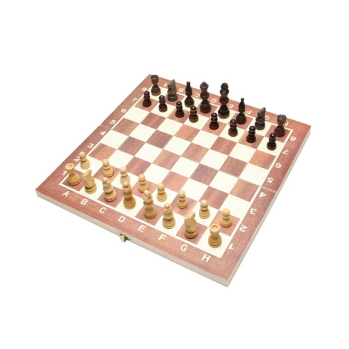 Konex Chess - 32 Wooden Pieces, Wooden Chess Board - 11 x 11 inch