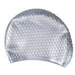Skidproof Bubble Silicone Swim Cap - Assorted