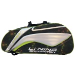 LiNing 9 in 1 Space Lime Badminton KitBag