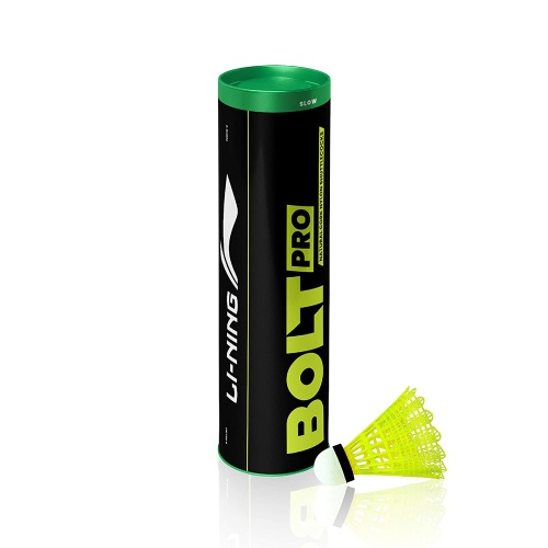 Lining Bolt Pro Green Cap Shuttlecock - Yellow
