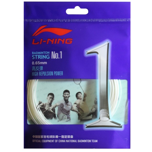 Lining No. 1 Badminton String - Assorted