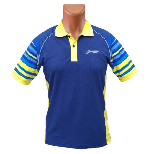 LiNing Season of Lines 2 Collar Tshirt