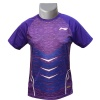 LiNing Turbo Dri Arrow Noise Round Neck Tshirt