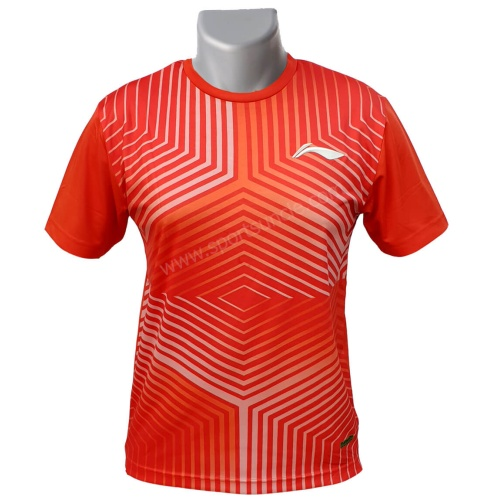 LiNing Turbo Dri Matrix Design Round Neck Tshirt