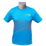 LiNing Turbo Dri Action Triangles Round Neck Tshirt