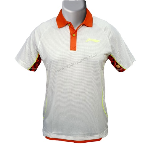 LiNing Collar Sublimation Tshirt