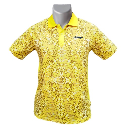 LiNing Collar Dot Mosaic Sublimation Tshirt