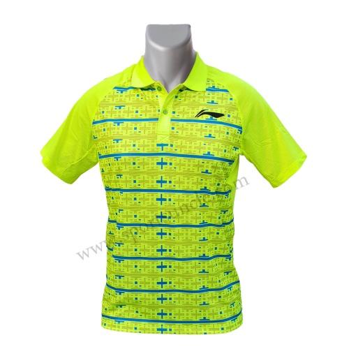 LiNing Polo Plus Design Sublimation Tshirt