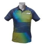LiNing Collar Turbo Dri Magical Lines Tshirt