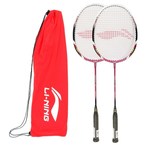 Combo: Li-ning Smash XP 70 II x 2 Badminton Racket