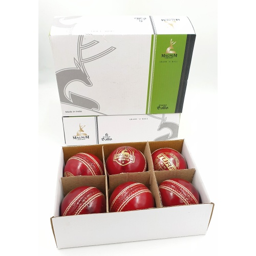 Magnum Turf Cricket Ball (Pack of 6)