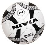 Nivia Black & White Football - Size 5