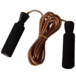 Nivia Leather Skipping Rope with Weight