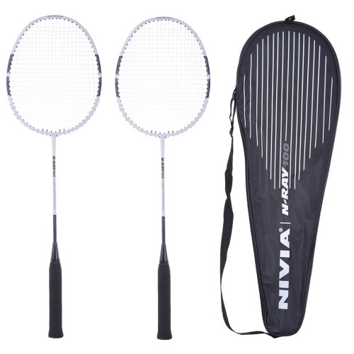 Nivia N-Ray 100 Badminton Racket (Pack of 2)