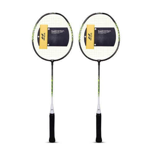 Nivia Solar 5600 Badminton Racket - Pack of 2