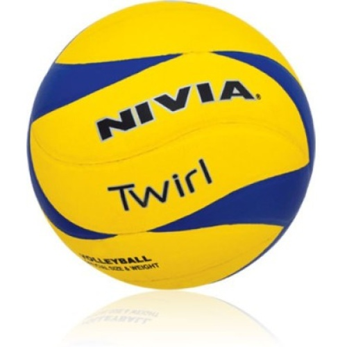 Nivia Twirl Volleyball, Size 4