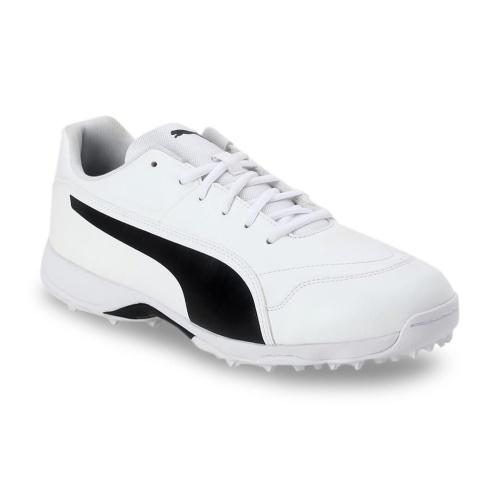 one8 x PUMA Men White Cricket Shoes
