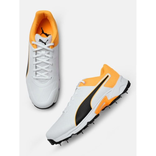 Puma Spike 19.2 Orange Cricket Shoes
