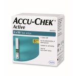 100 Strips for Accu Chek Active Sugar Monitor