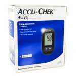 Accu-Chek Aviva Blood Glucose Meter with 10 Free Strips