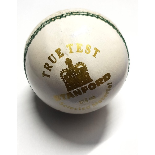 SF True Test Cricket Balls, Pack of 6 - White