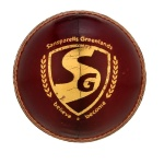 SG Tournament Leather Ball (Red) - Pack of 12 Balls
