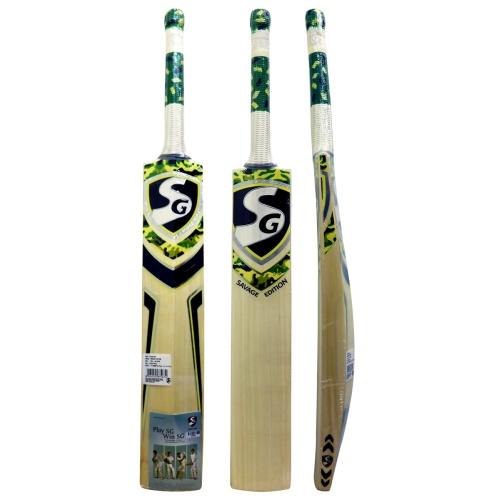 SG Savage Edition English Willow Cricket Bat, Full Size