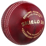 SG Shield 30 (Red) Cricket Ball - Pack of 12
