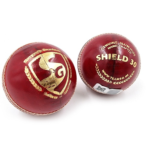 SG Shield 30 leather Cricket Ball