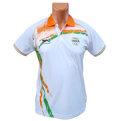 Shiv Naresh Olympics White Tshirt