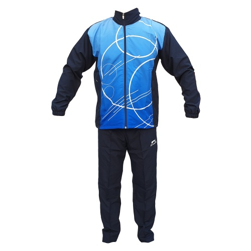 Shiv Naresh Synthetic Blue Sublimation TrackSuit