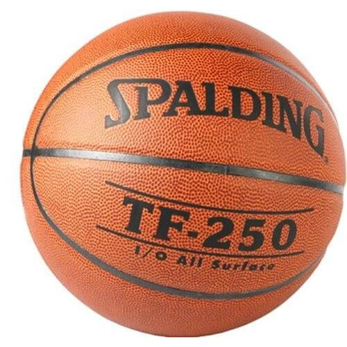 Spalding TF 250 Basketball, Size 7 (Brick Color)