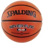 Spalding Neverflat Basketball, Size 7 (Brick Color)