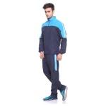 Sport Sun Navy-Firozi Printed Track Suit