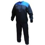 Sport Sun Blue Geometric Printed Track Suit