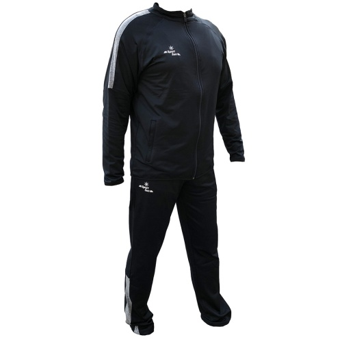 SportSun Dark Navy Blue Spandex Winter TrackSuit
