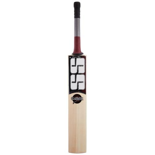 SS Gladiator Kashmir Willow Cricket Bat, Size - SH