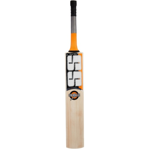 SS Ton Orange English Willow Cricket Bat, Size - SH