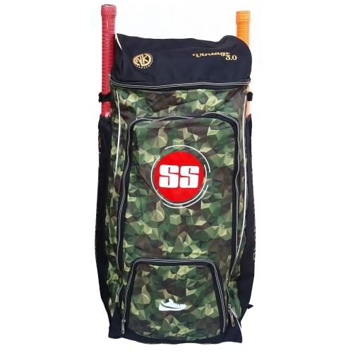 SS Vintage 3.0 camo Cricket kit bag