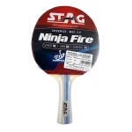 Stag Ninja Fire Table Tennis Racquet (I.T.T.F. Approved)