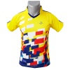 Superjockk Colorful Blocks Round Neck Badminton Tshirt