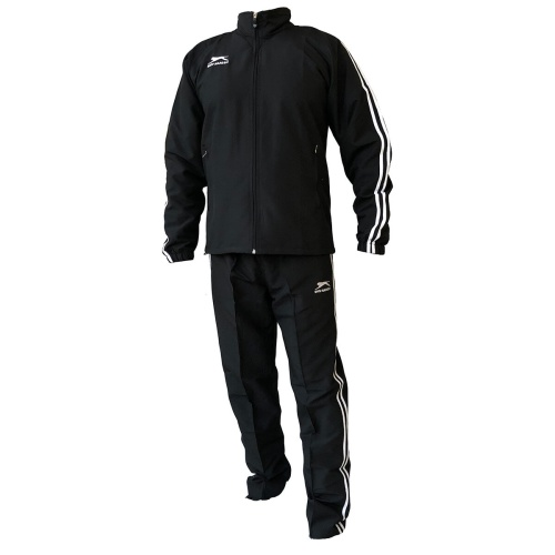 Shiv Naresh Black with White Stripes TrackSuit