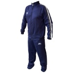 Shiv Naresh Blue with Grey-White Stripes Winter Track Suit
