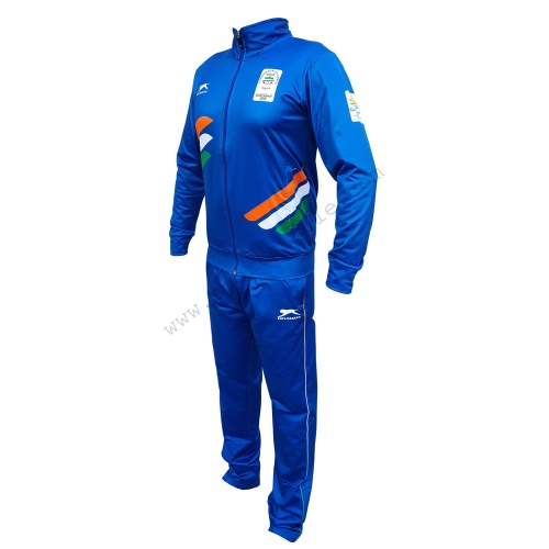 Shiv Naresh Common Wealth Games 2018 Blue Track Suit