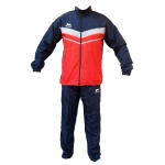 Shiv Naresh Solid Red-Grey Tracksuit