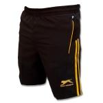 Shiv Naresh Orange Stripes Spandex Shorts