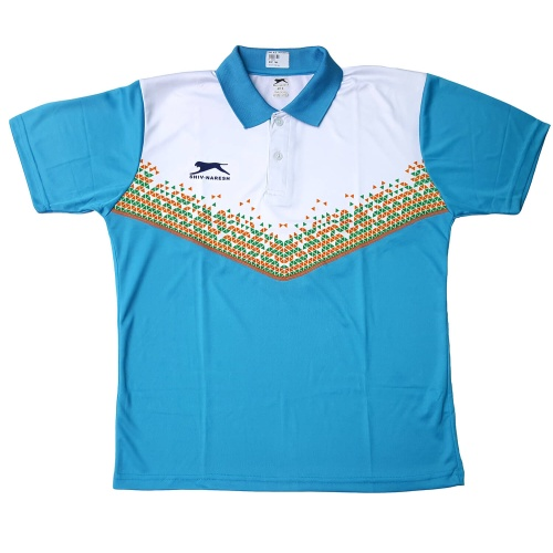 Shiv Naresh Blue-White India Tshirt