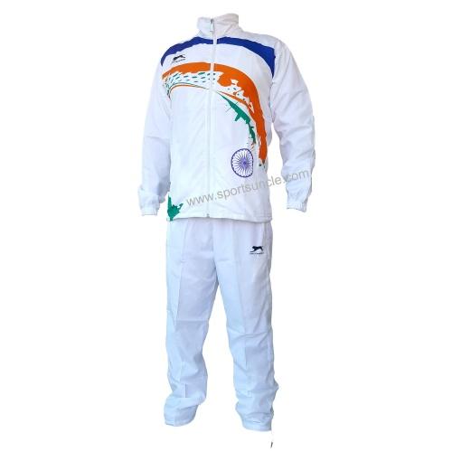 Shiv Naresh White Rio 2016 Games Track Suit